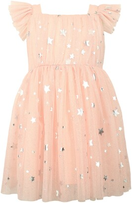 Popatu Foil Star Tulle Dress