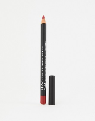 NYX Suede Matte Lip Liners - Spicy