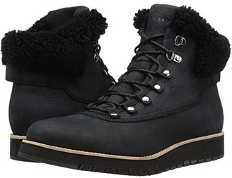 Cole Haan Zerogrand Explorer Hiker (Black Leather) Women's Boots