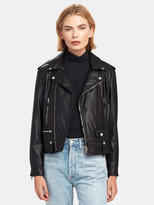 More Than Yesterday Classic Faux Leather Biker Jacket