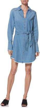 Paige Clemence Chambray Shirt Dress