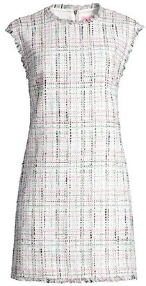 Kate Spade Pastel Tweed Shift Dress
