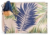 Sole Society Panoma Print Pouch - Pink