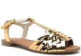 Qupid Identity strappy flat sandal