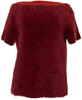 Louis Vuitton Red Wool Knitwear