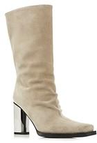 Proenza Schouler Women's Sucal Wrinkle Square-Toe Boots