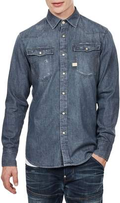 G Star Raw Slim-Fit Denim Shirt