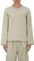 Craig Green Men's Cotton-Blend Poplin Shirt-GREEN