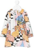 Mini Rodini Oh La La Dashing Dogs printed dress
