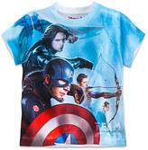 Disney Marvel's Captain America: Civil War Two-Sided Tee for Boys