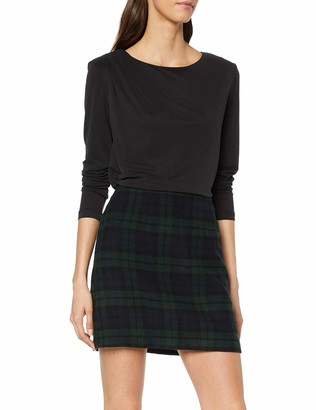 New Look Women's Blackwatch Brushed Skirt