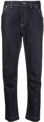 Lorena Antoniazzi Cropped Straight-Leg Trousers