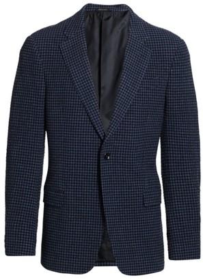 Giorgio Armani Gingham Seersucker Sportcoat
