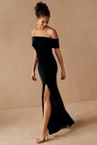BHLDN Fawn Velvet Dress
