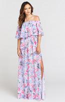 MUMU Hacienda Maxi Dress ~ Poppy Daze
