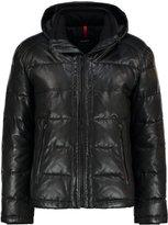 Strellson Leather Jacket Schwarz