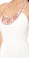 Shoshanna Elenee Embellieshed Dress