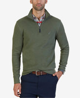 Nautica Men's Windward Quarter-Zip Sweater