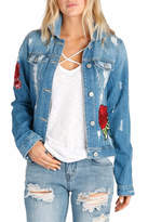 Elan International Embroidered Denim Jacket