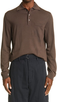 Lemaire Long Sleeve Polo