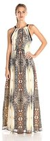 Adelyn Rae Women's Printed Maxi Dress