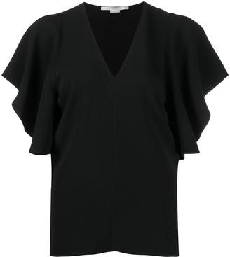 Stella McCartney Mallory bell-sleeves top