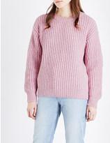 Sandro Bubble wool-blend jumper
