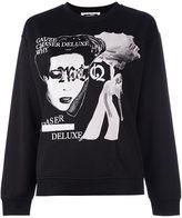 McQ by Alexander McQueen Band print sweatshirt