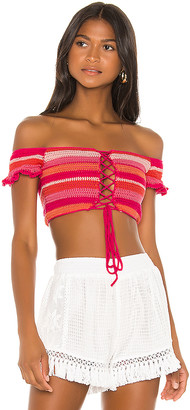 All Things Mochi Willie Bandeau Top