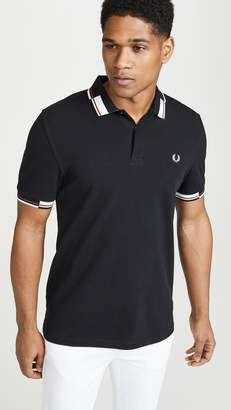 Fred Perry Abstract Collar Polo Shirt
