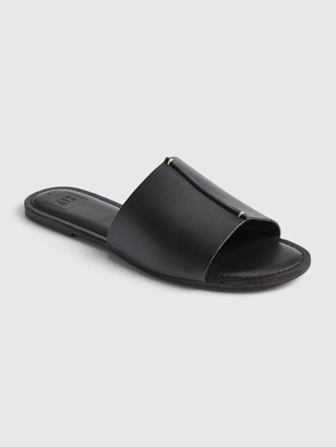 Gap Leather Slides
