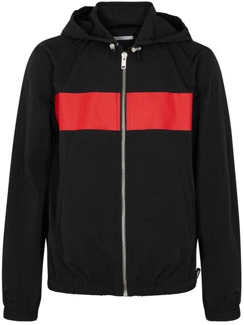 Givenchy Black Printed Shell Jacket