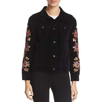 3J Workshop by Johnny Was Women's Embroidered Button Up Jacket