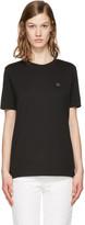 Acne Studios Black Taline Face T-Shirt