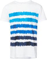Orlebar Brown Sammy painted stripe T-shirt - men - Cotton - S