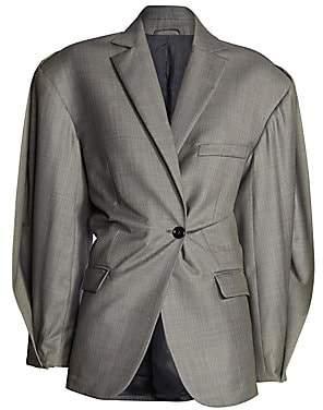 Acne Studios Women's Jaster Cinched Waist Suit Jacket