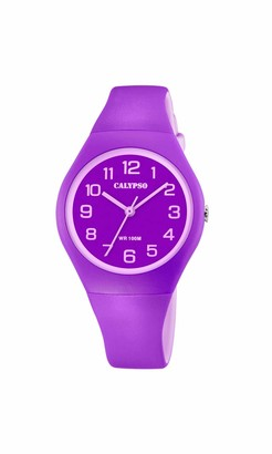 Calypso Women's Analogue Analog Quartz Watch with Plastic Strap K5777/4