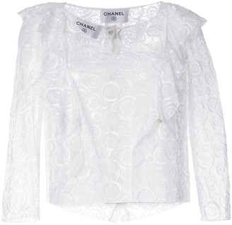 Chanel Pre Owned Lace Twin-Set