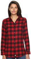 Woolrich Women's Plaid Button-Down Shirt
