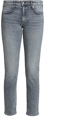 Rag & Bone Dre Low-Rise Slim-Fit Boyfriend Jeans