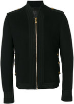 Dolce & Gabbana military zipped jacket - men - Viscose/Virgin Wool - 46