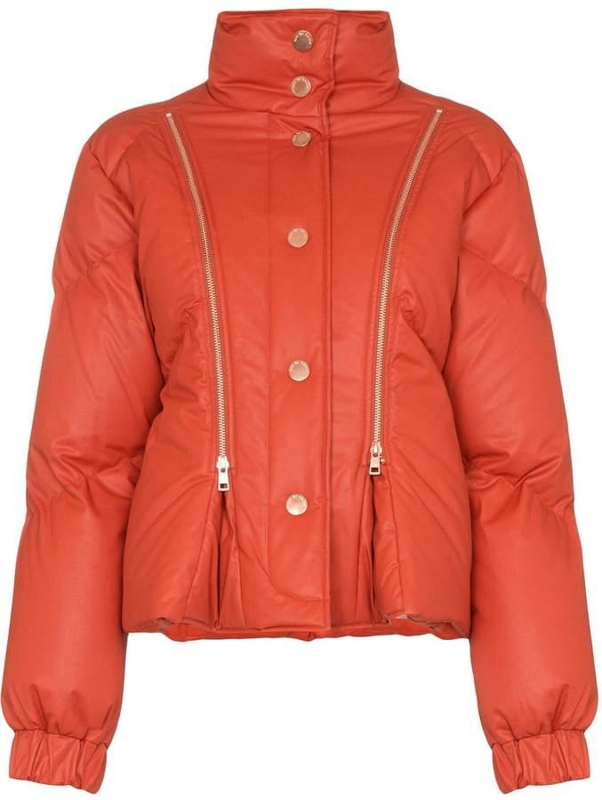 2bcafd5090 zip-detail puffer jacket