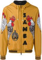 Dolce & Gabbana samba rooster print jacket - men - Polyester - 50
