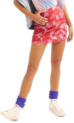 Free People Modern Femme Novelty Denim Skirt