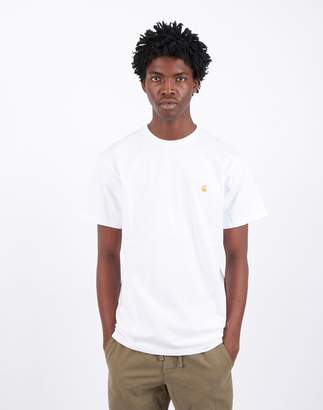 Carhartt Wip WIP - Short Sleeve Chase T-Shirt White