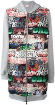Giamba graffiti hoodie - women - Cotton/Polyester - 42