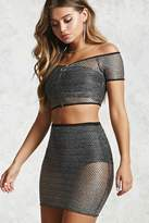 Forever 21 Chainmail Mini Skirt