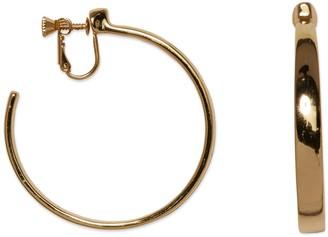 Vince Camuto Goldtone Clip-on Hoop Earrings