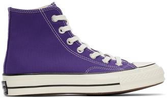 Converse Purple Chuck 70 High Sneakers