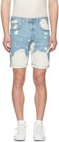 Levi's Levis Blue Denim 501 Ct Shorts